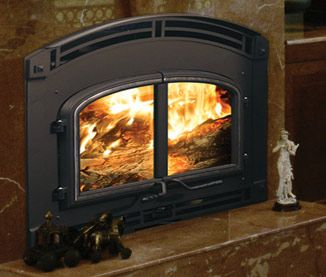 Quadra-Fire Wood Fireplace. The energy-efficient heating ...
