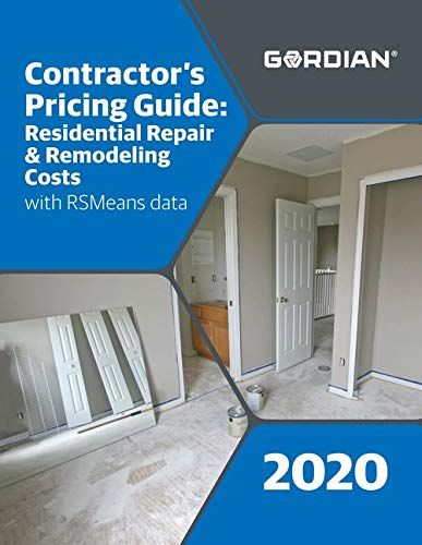Download Pdf Contractors Pricing Guide Residential Repair Remodeling Costs With Rsmeans Data 60340 Free Epub Remodeling Costs Pricing Guides Free Epub Books