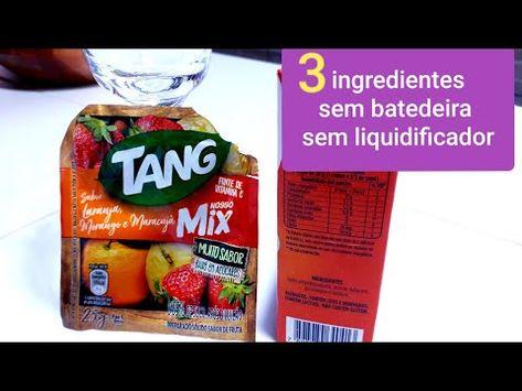 Sorvete Sem Batedeira E Sem Liquidificador Facil 3 Ingredientes