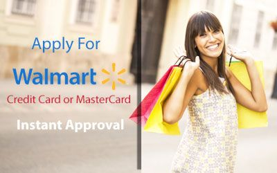 Apply Walmart Credit Card Instant Approval >> Whenever A New Walmart Customer Apply For Walmart Credit