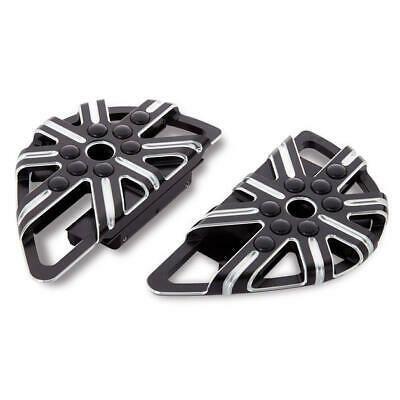 Arlen Ness 06-863 Black Adjustable Driver Floorboard