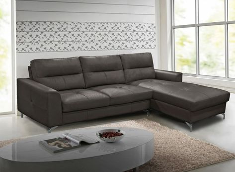 Leathaire Right Hand Facing Corner Sofa