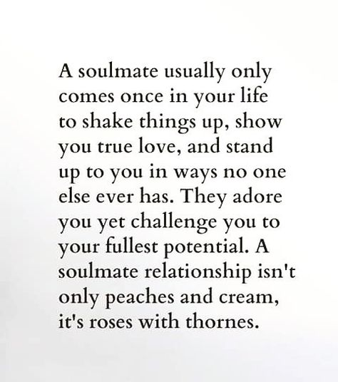 """""""Everyone wants to have their #SoulMate or #TwinSoul but no one wants all of what it comes with. Its not a fairytale romance or happy ending. Its the…"""""""