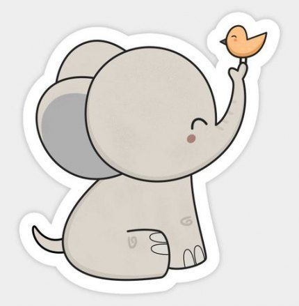 Image Result For Cute Elephant Drawings Cute Drawings Elephant