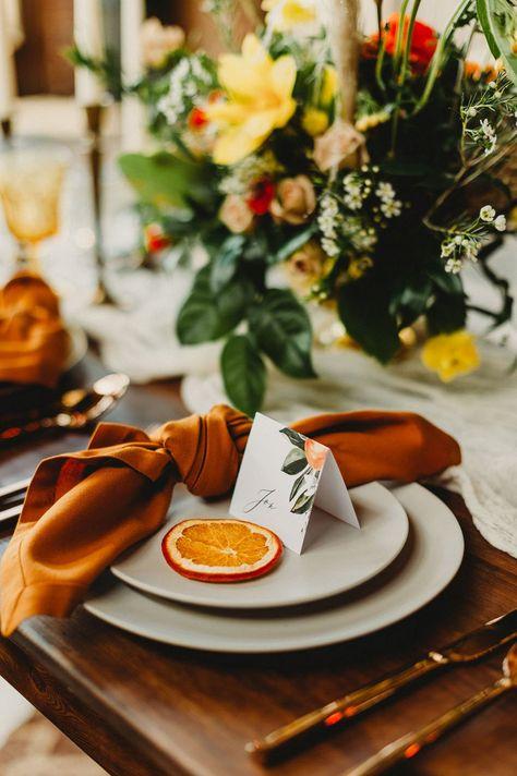 Old Florida Wedding Inspiration With Citrus and Industrial Details Orange Wedding Invitations, Destination Wedding Invitations, Printable Wedding Invitations, Wedding Planning, Wedding Stationery, Invitation Cards, Invitation Wording, Invitation Suite, Invitation Design