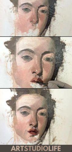 Caravaggio Portrait Painting Tutorial of The Musicians