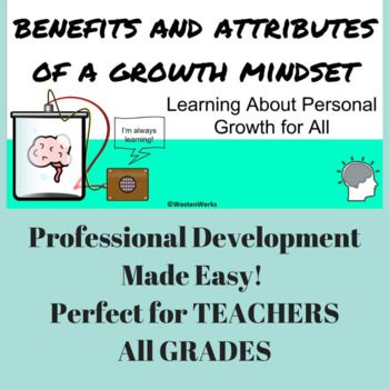 Growth Mindset Professional Development for Interactive Learning