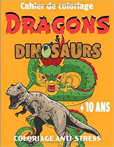 Cahier De Coloriage Dragons Dinosaurs Coloriage Anti Stress Cahier De Coloriage Coloriage Coloriage Dragon