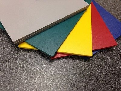 6mm 1 4 Sintra Pvc Foam Board Plastic Sheets You Pick Size Color Plastic Sheets Foam Board Diy Keyring