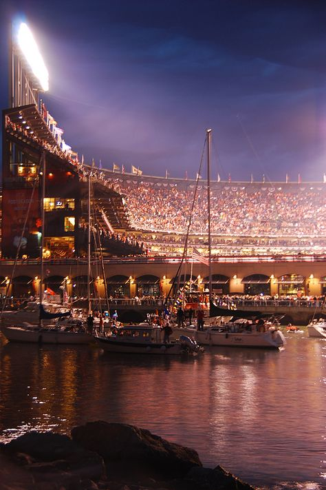 We have the best looking ball park, hands down. SF Giants