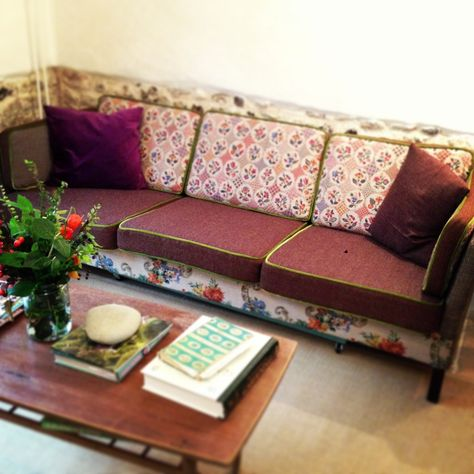 Mixed Fabric Sofa Sarah Moore Eventually When We Get Rid Of