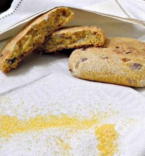 Fior di Vaniglia               : Focaccine con farina di mais alle cipolle rosse