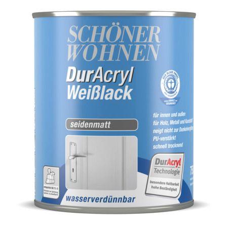 Duracryl Weisslack Seidenmatt Schoner Wohnen Farbe Wohnen Schoner Wohnen