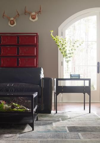 Orso Shadow Box End Table In Black Design By Bd Studio Side Table Decor Furniture Home Furnishings