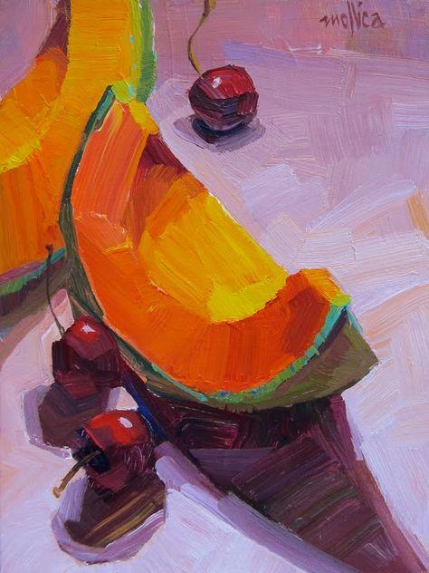 Edibles Summary Block — Paintings By Patti Mollica Block Painting, Fruit Painting, Gouache Painting, Food Art Painting, Building Painting, Painting Inspiration, Art Inspo, Guache, Still Life Art