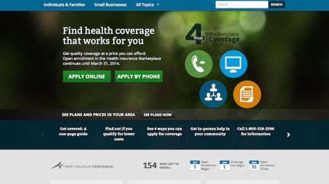Report 100 000 Signed Up For Obamacare As Website Was Revamped