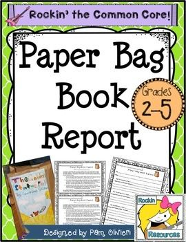Brown paper bag book report