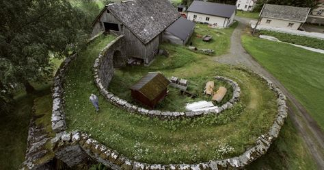 Cool Barn Design in Valldal, Norway Features Stone Ramp