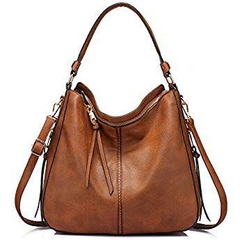 Handtaschen Damen Umhangetasche Hobo Tasche Synthetischem Leder Gross Handtasche Fur Frauen Hobo Taschen Taschen Handtasche Braun
