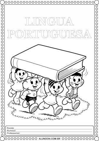 40 Modelos De Capas De Caderno Para Imprimir E Colorir Tambem Em