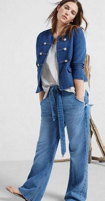 c272d98c352a Летние брюки для полных. Модные летние женские брюки, джинсы ...