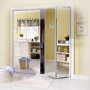 Superb More Doors  Bifold, Accordion, Mirrored, Collapsible  Please   Mirrored Closet  Doors, Closet Doors And Sliding Door