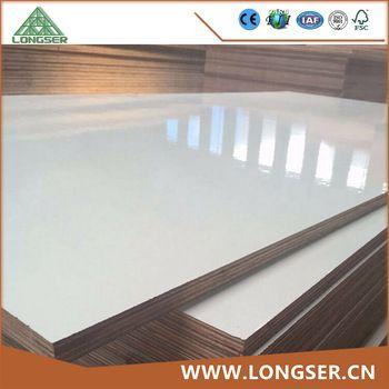 18mm Furniture Grade White Melamine Faced Plywood Plywood Sizes Plywood Suppliers Plywood Companies