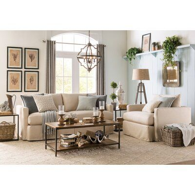 Laurel Foundry Modern Farmhouse Cadence 3 Piece Coffee Table Set
