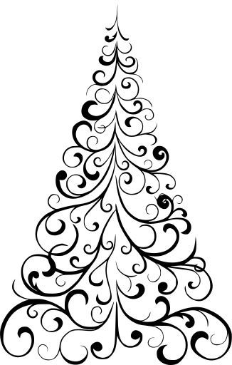 Pin By Charlie King On Xmas Tree In 2020 Christmas Tree Stencil