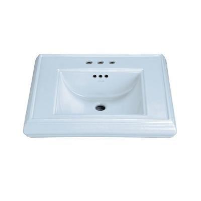 Kohler Memoirs Classic 24 In Ceramic Pedestal Sink Basin In White