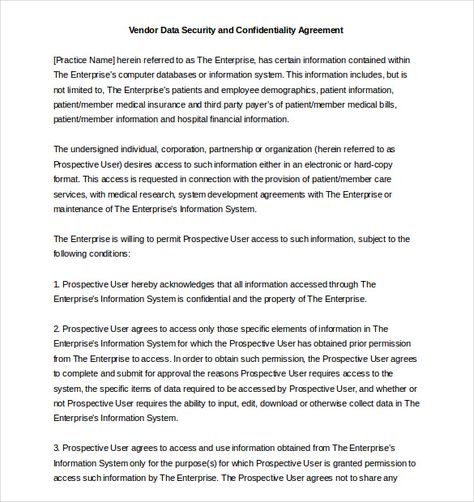 Training Agreement Template Word, Excel  PDF Templates - employee confidentiality agreement