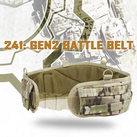 Small 241-008-S MOLLE PALS Multicam Condor Gen II Battle Belt