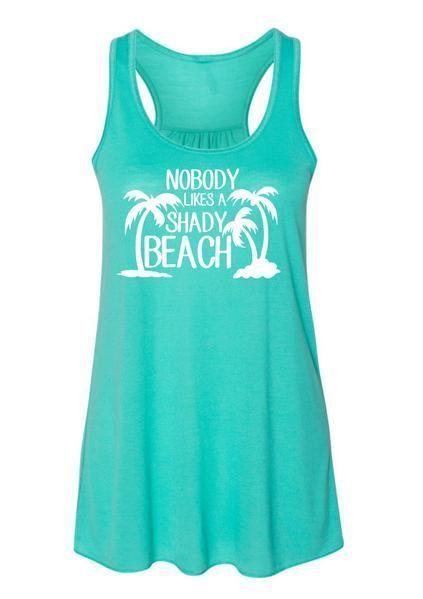 Beach Tank Summer Tank Top Beach Shirt That Summer Feeling Summer Tank