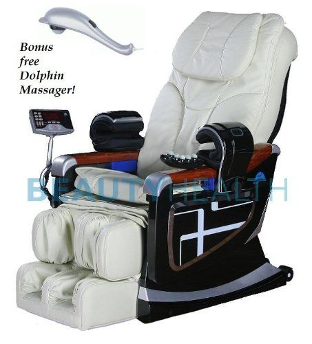 Forever Rest Premium Massage Chair Body Scan Built In Heat Top Of The Line 10yr Warranty Creme Ivory Review Massage Chair Body Scanning Massage