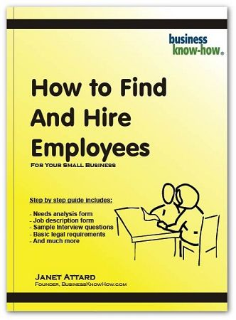 How To Find and Hire Employees For Small Businesses Business and - sample needs analysis