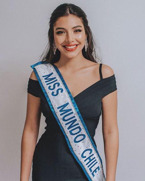 ignacia albornoz olmedo MISS WORLD CHILE 2019