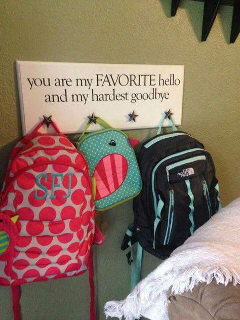 Backpack hanger                                                       …