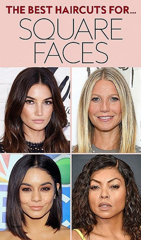 Hairstyles For Square Faces Square Face Hairstyles Square