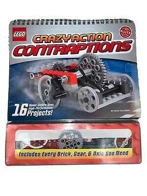 Klutz Lego Crazy Action Contraptions Craft Kit 9781591747697 Ebay Lego Sets Things To Sell Craft Kits