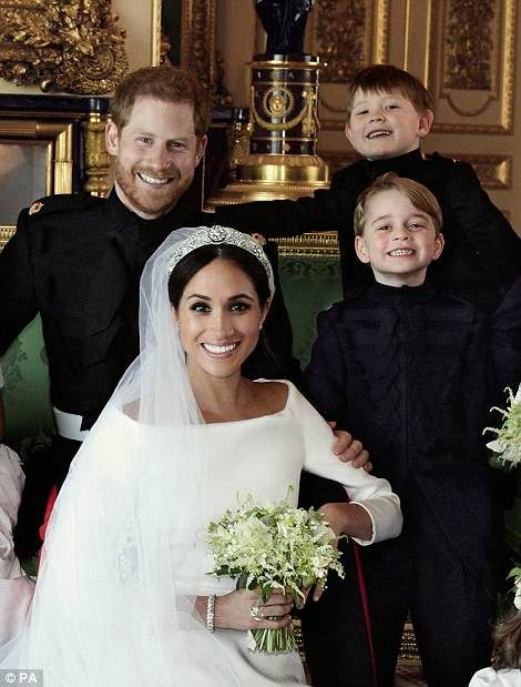 When Is Prince Harry S Wedding.Shy George Steals The Show In Meghan And Harry S Wedding Photos
