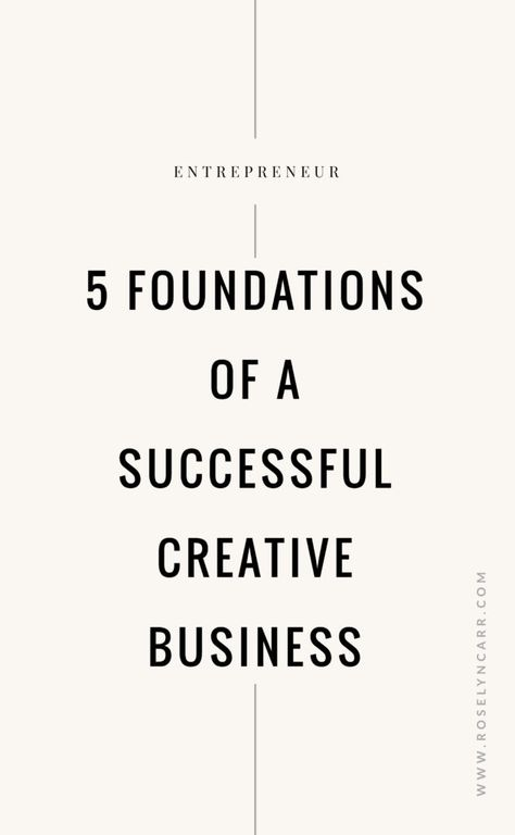 The 5 Most Important Things to Grow Your Business - Roselyn Carr Blog