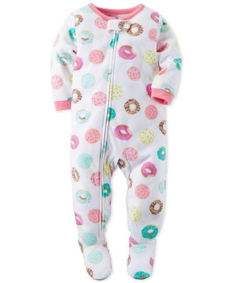 Unisex Boys Girls Kids Aztec Snowflake Print One Sleepsuit Jumpsuit Playsuit