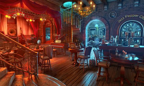 Mad Head Games art for HOPA game Cadenza: Music, Betrayal and Death