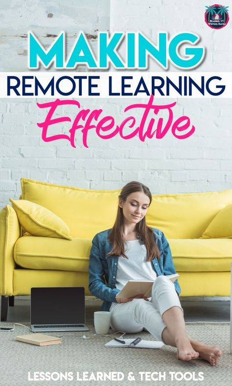 The Best Tips for Effective Remote Learning - Engaging middle and high school students in distance learning lessons and technology Online High School, Virtual High School, High School Classes, Art Classroom Management, Digital Literacy, Middle School English, Thing 1, Blended Learning, Student Learning