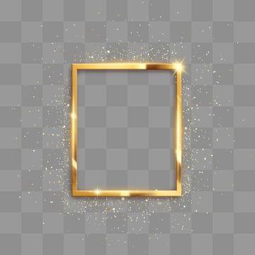 Moldura Retangular Dourada De Textura De Metal Com Brilho Alto Brilho Retangulo Clipart Linda Brilho Imagem Png E Psd Para Download Gratuito Molduras Molduras Douradas Molduras Decoradas