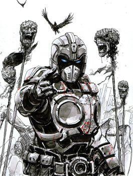 Clayton Carmine By Joelgomez Arte De Videojuegos Gears Of War Dibujos