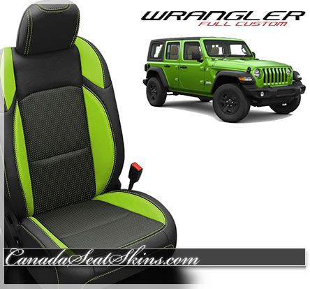 2018 2020 Jeep Wrangler Custom Leather Upholstery Custom Jeep