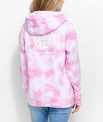 ab10c95652 Vans Pink Tie Dye Hoodie | Things I Want This Year <3 in 2019 | Tie ...