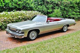 All American Classic Cars 1974 Buick Lesabre Luxus 2 Door Convertible In 2020 Buick Buick Lesabre Custom Muscle Cars