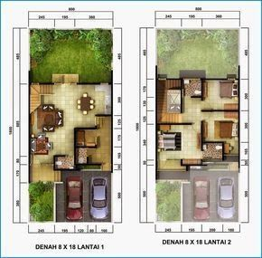 Denah Rumah Minimalis 2 Lantai Sederhana In 2019 Tiny Download Gambar Autocad Desain Rumah Tinggal 2 Lantai 10 Mem Plantas De Casas Casas Projetos De Casas